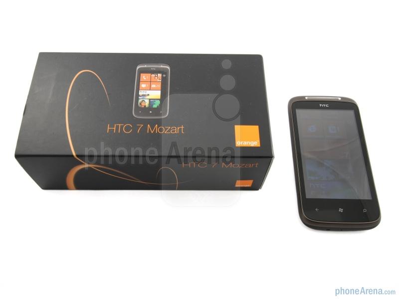 Комплект поставки HTC 7 Mozart