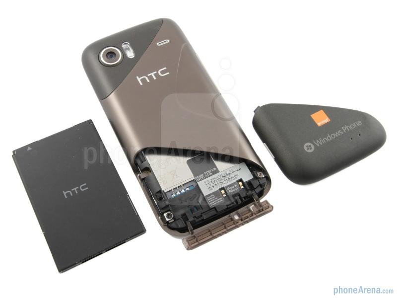 Аккумуляторный отсек HTC 7 Mozart