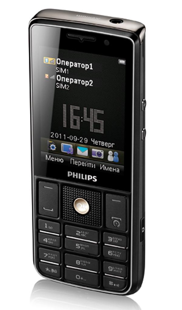 Телефон филипс х 623 фото 4